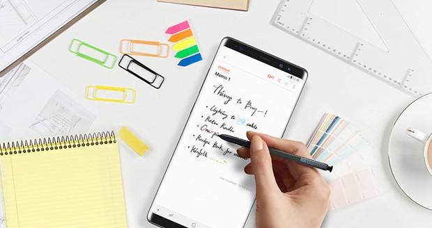 De nieuwe Samsung Note9 krijgt een geheel vernieuwde S Pen
