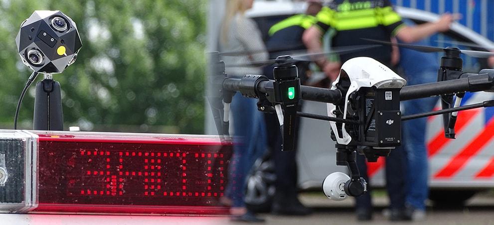 Politie en meldkamer testen 360 graden beeld in 5G Lab