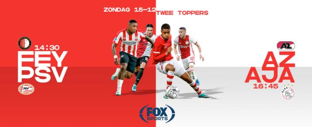 AZ - Ajax en Feyenoord - PSV