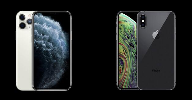 iPhone Xs versus iPhone 11 Pro