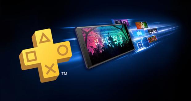 De Sony XZ2 met het PlayStation merk pad
