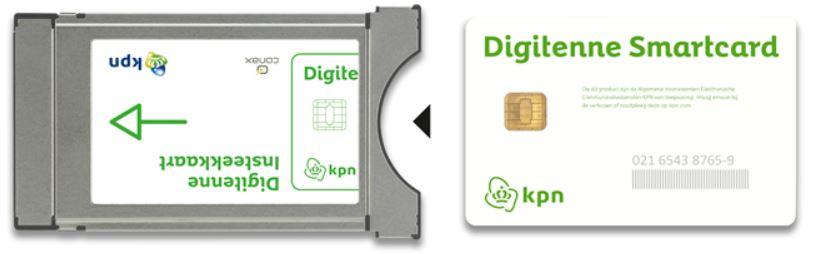 Smartcard insteken