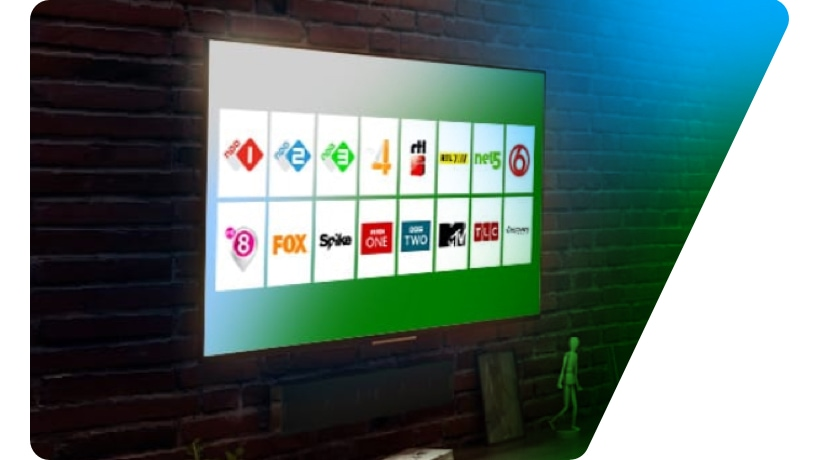 de beste kwaliteit tv-kijken in HD