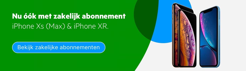 iPhone XR zakelijk abonnement
