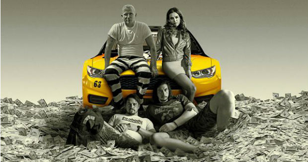 In de film Logan Lucky spelen onder andere Daniel Craig (James Bond), Channing Tatum (Magic Mike) en Adam Driver (Star Wars).