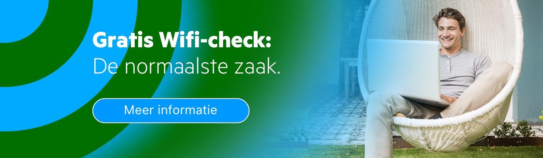 Wifi-check: de normaalste zaak bij KPN Zakelijk