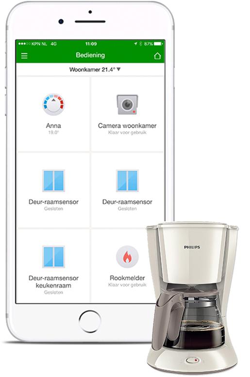 Smartlife koffiezetapparaat