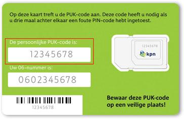 PUK-code