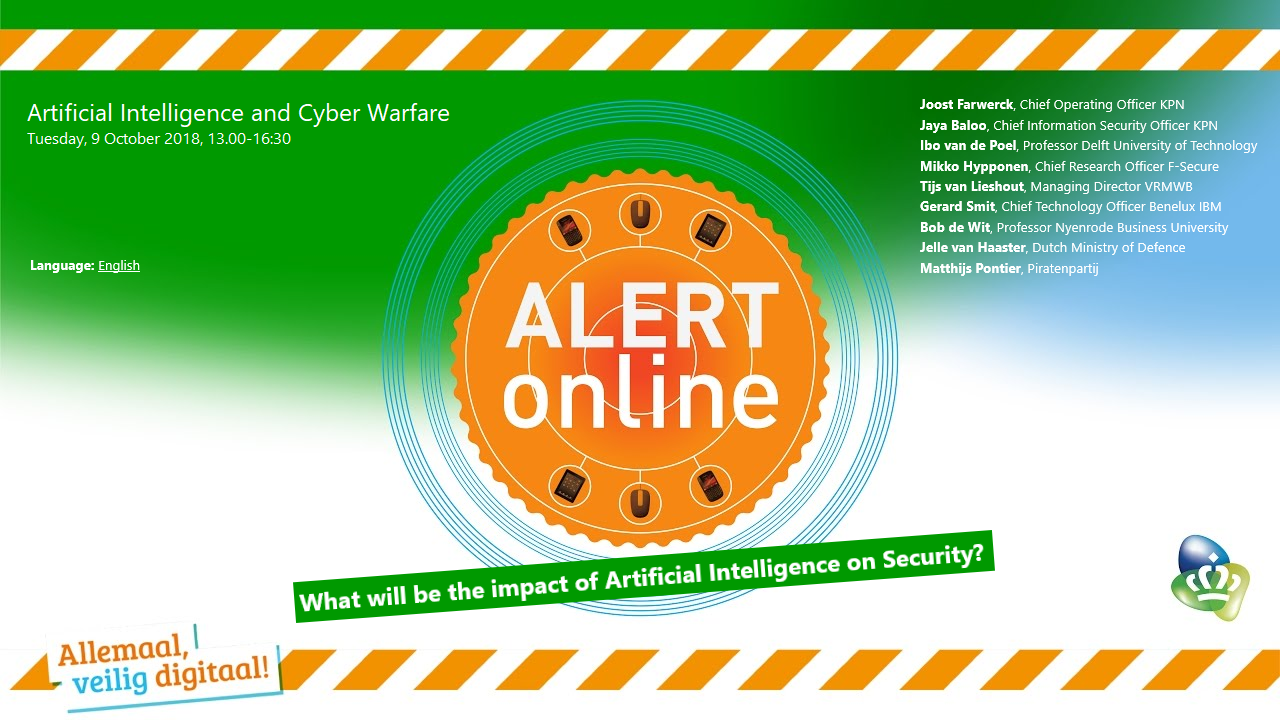 Livestream Artificial Intelligence and Cyber Warfare