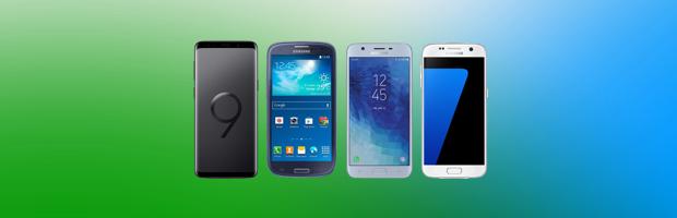 Nieuwe Samsungs in 9 jaar