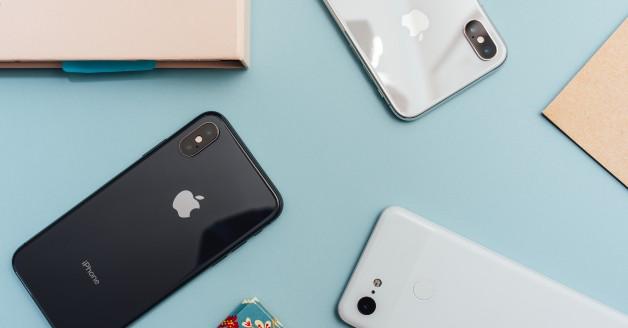 Drie iPhones