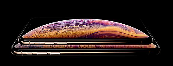 iPhone XS en iPhone XS Max beeldscherm