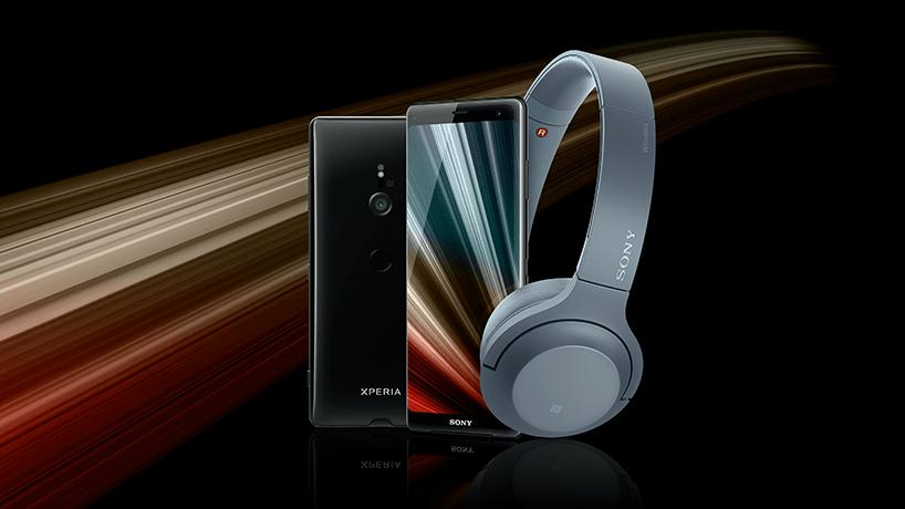 Sony Xperia XZ3 met gratis Sony headset