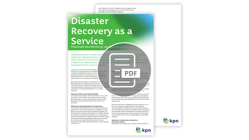 Disaster Recovery Services factsheet