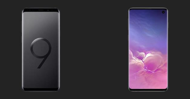 Samsung Galaxy S9 en Samsung Galaxy S10