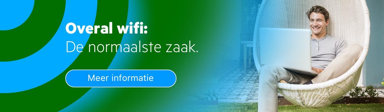 Overal wifi: de normaalste zaak bij KPN Zakelijk