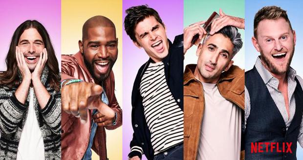 The Fab Five geeft in een nieuw seizoen Queer Eye weer make-overs.
